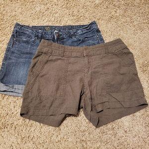 Women's Size 10 Shorts Bundle